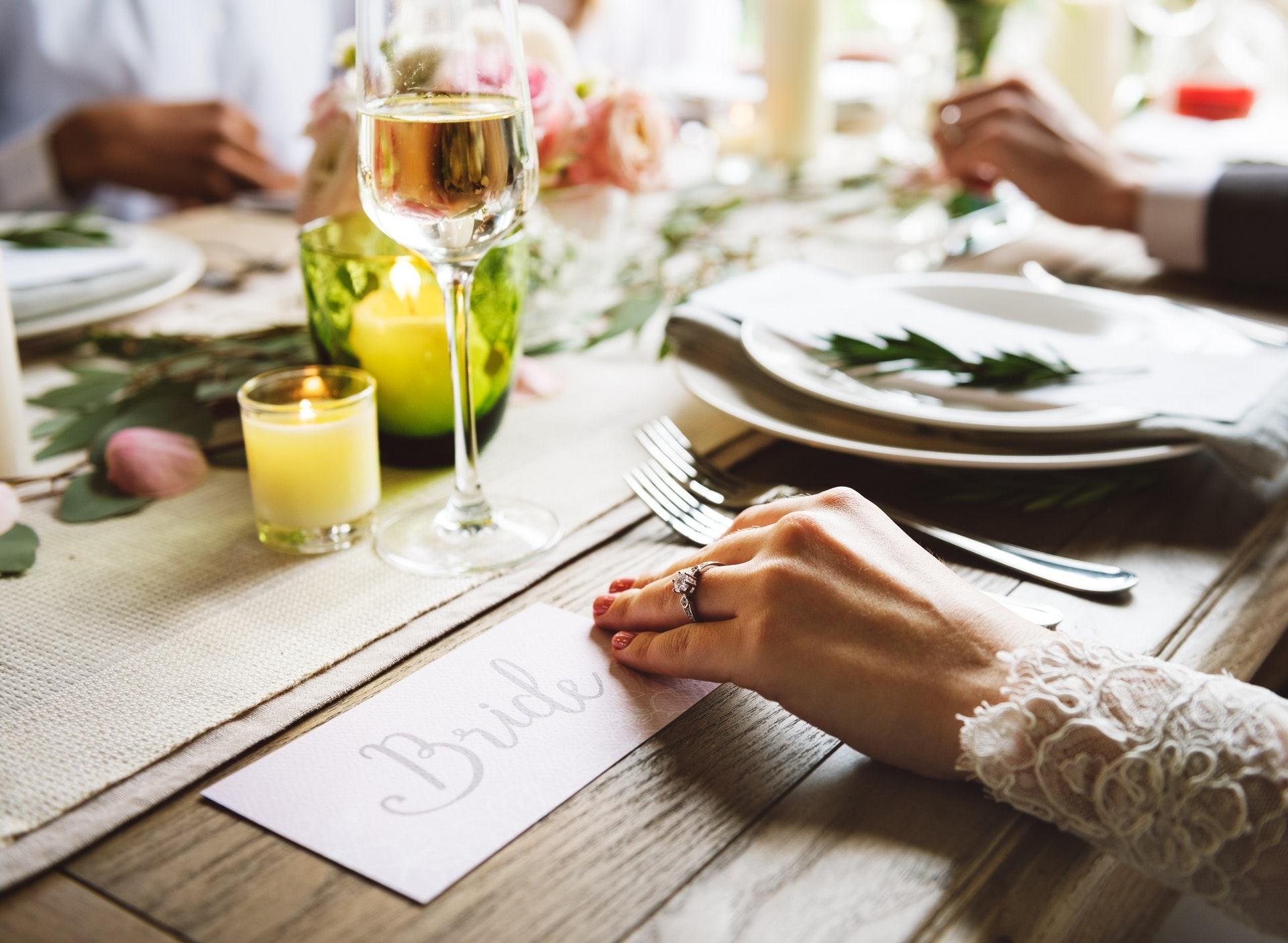How to choose the right wedding menu